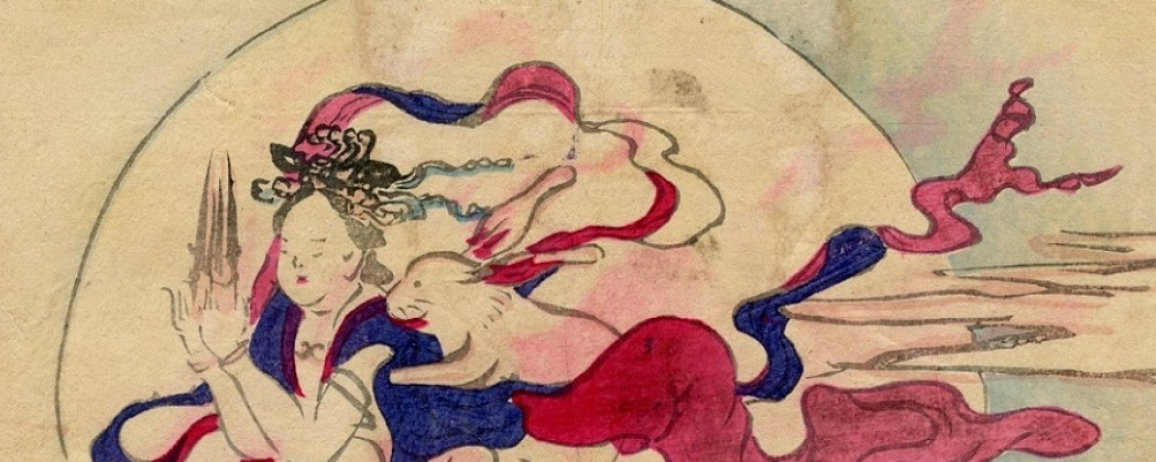 Jade Rabbit Having Sex With the Moon Goddess Chang'e