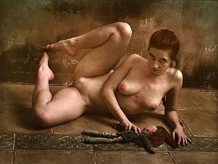 Jan Saudek erotic art