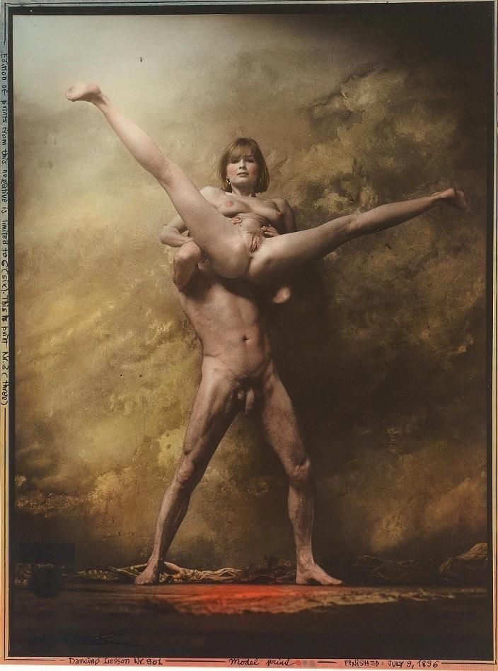 Jan Saudek naked splits