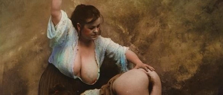 Modern Vintage in Grotesque Erotic Photos by Jan Saudek