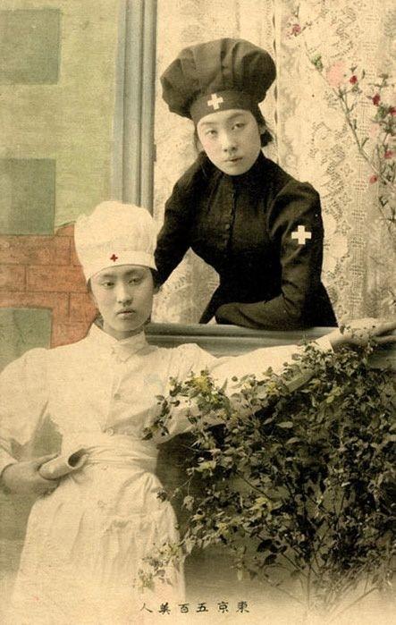 Japanese nurses photograph