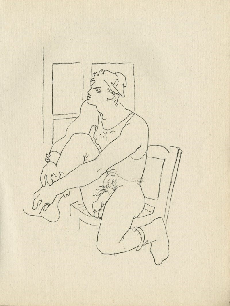 jean cocteau the man in front of the window
