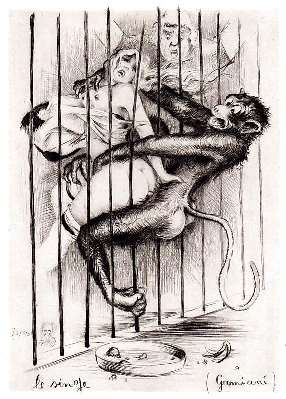 jean morisot horny monkey