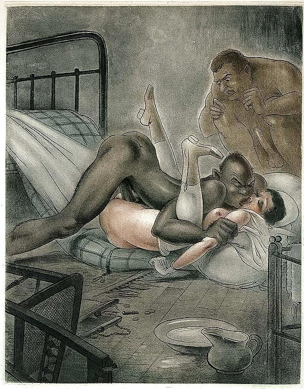 jean morisot interracial lovemaking