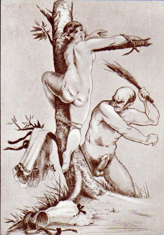 jean morisot tied female spanking