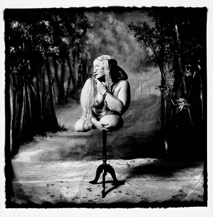 Joel-Peter Witkin Woman on a Table