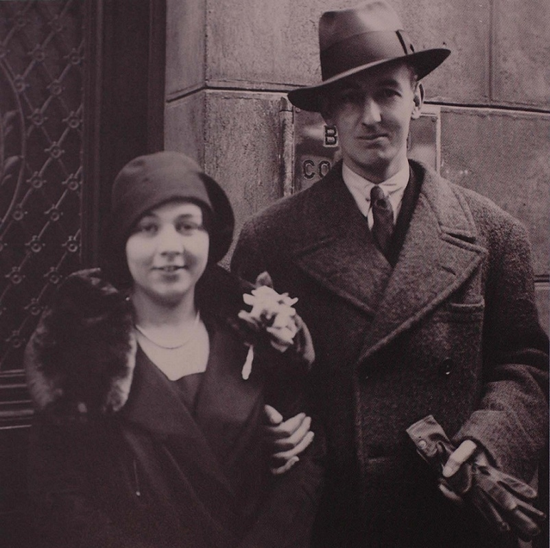 John and Mary Buckland Wright on their wedding day