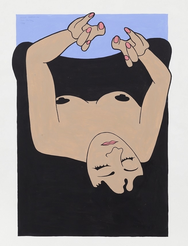 John Wesley Untitled (Woman Dreaming)