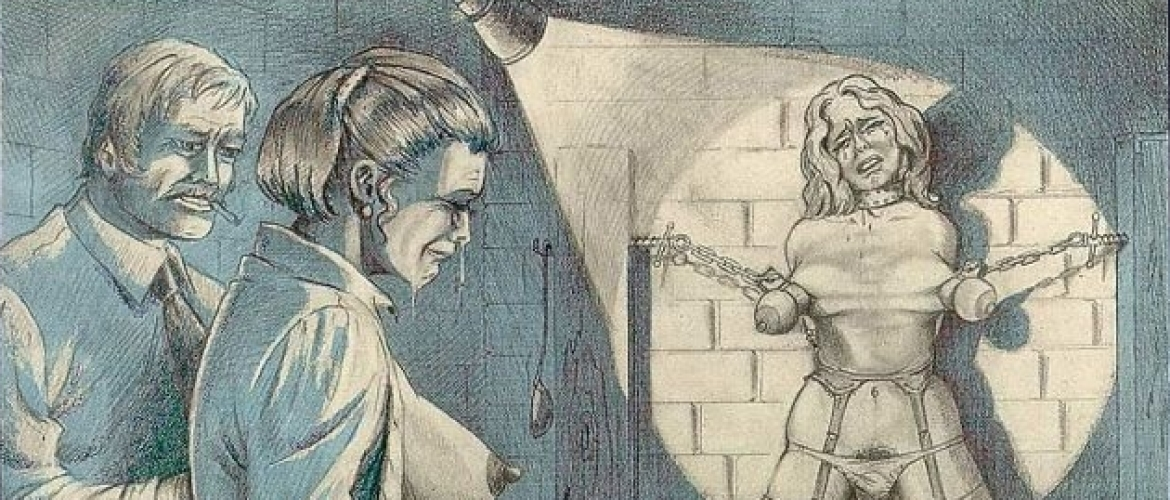 The Horrific Violent Imagery of the BDSM Illustrator Joseph Farrel (66 Pics)