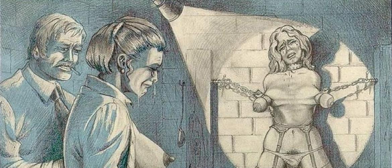 The Horrific Violent Imagery of the BDSM Illustrator Joseph Farrel (61 Pics)