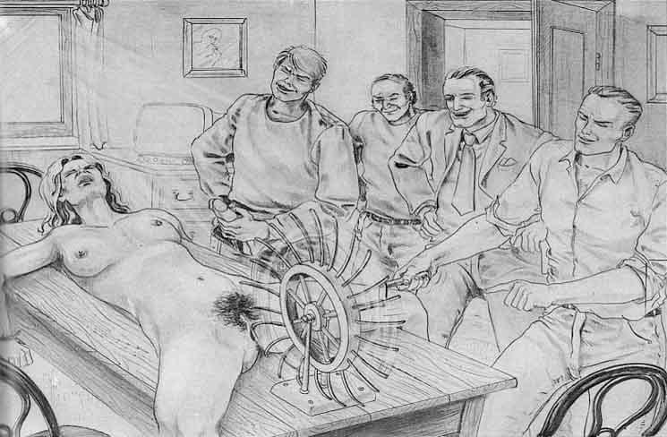 Joseph Farrel torturing