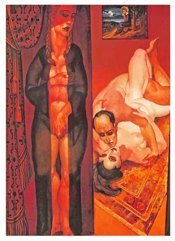 Juarez Machado erotic artist