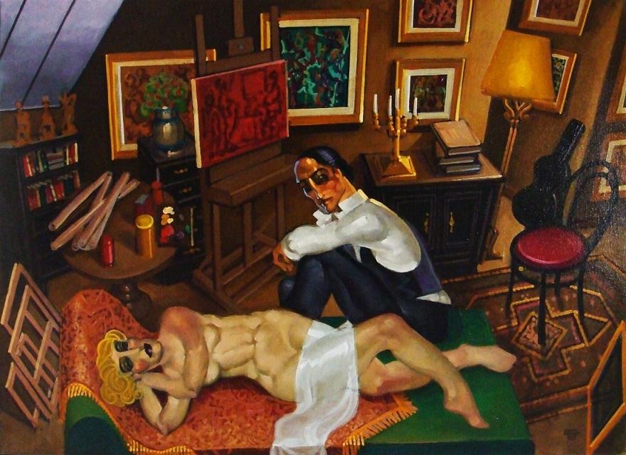Juarez Machado painter and model