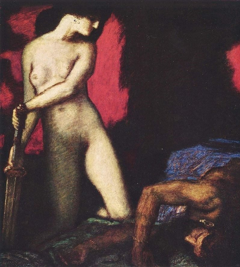 Judith and Holofernes Franz von Stuck