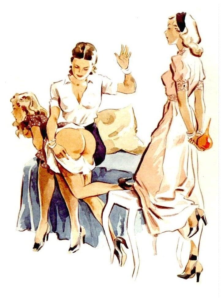 julie delcourt spanking