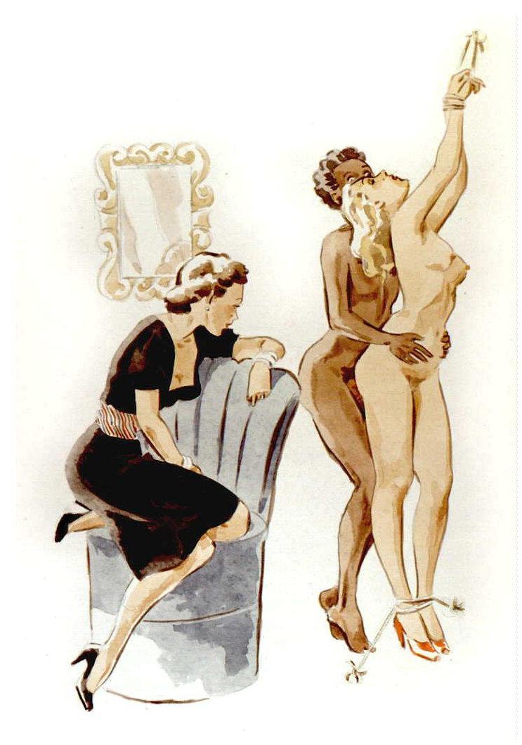 julie delcourt spanking art
