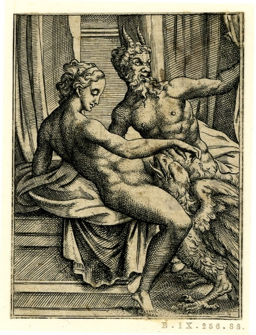 Jupiter with the eagle covering his genitalia