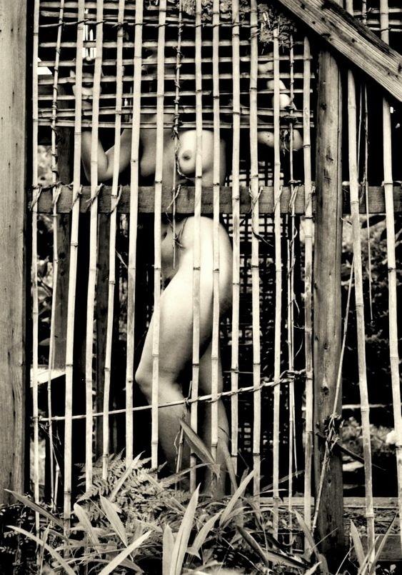 Kansuke Yamamoto nude in cage