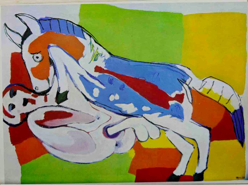 karel appel horse copulation