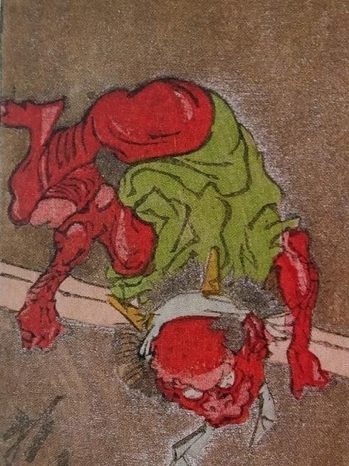 Kawanabe Kyosai Oni Demon