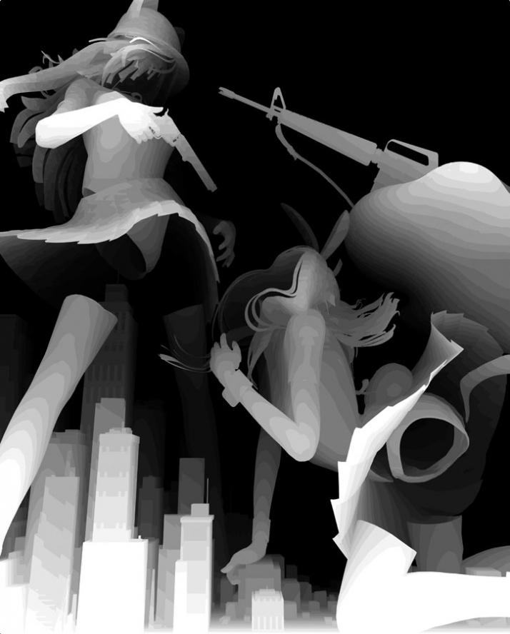 kazuki takamatsu girls with guns