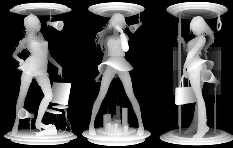 kazuki takamatsu three models