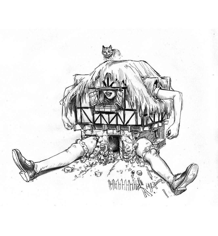 Kerb Crawler Alice in Wonderland