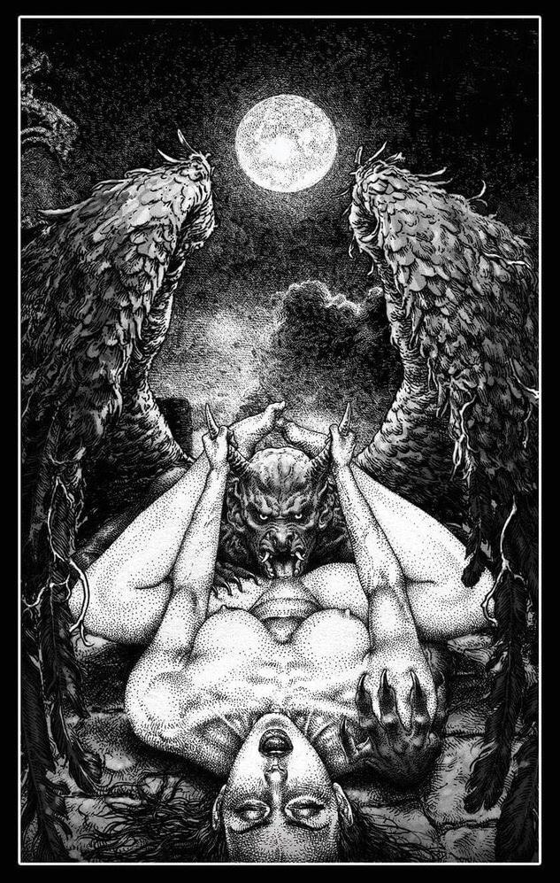 Kerb Crawler demon cunnilingus