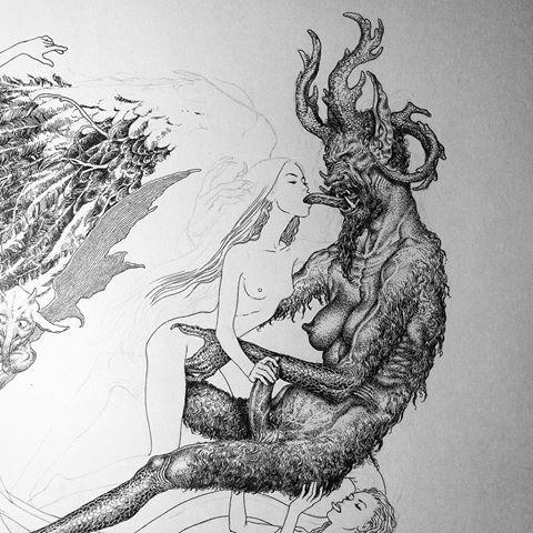 Kerb Crawler ghost drawing