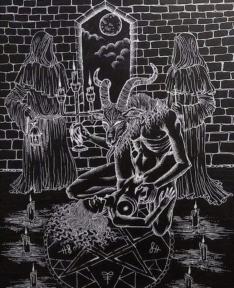 Kerb Crawler goat demon