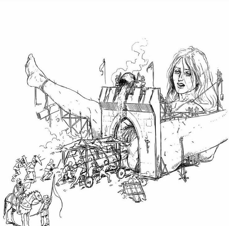 Kerb Crawler Gulliver's travels
