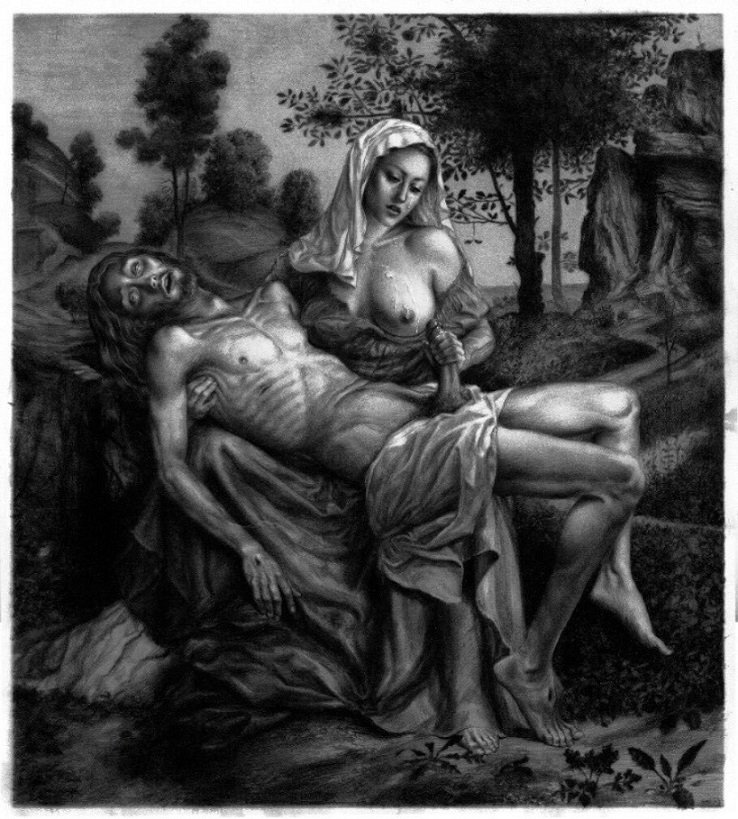 Kerb Crawler Pieta Michelangelo
