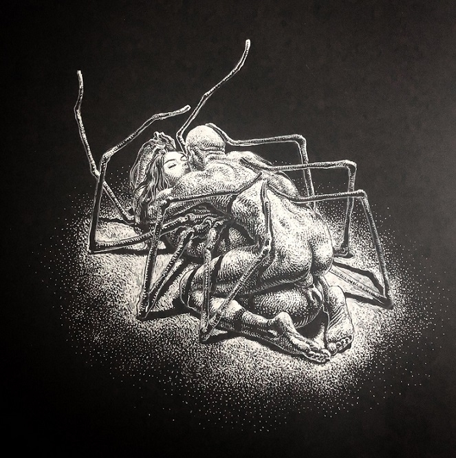Kerb Crawler spider kiss and fuck