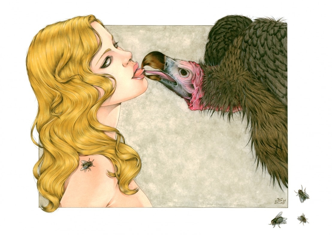 Kiss of the Vulture Zoe Lacchei