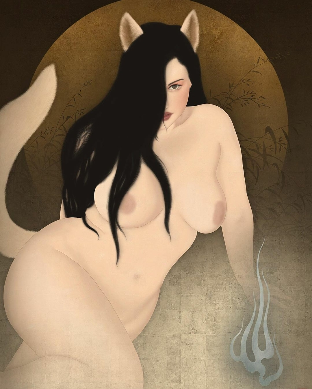 Kitsunebi (foxfire) feat. Lillian Right