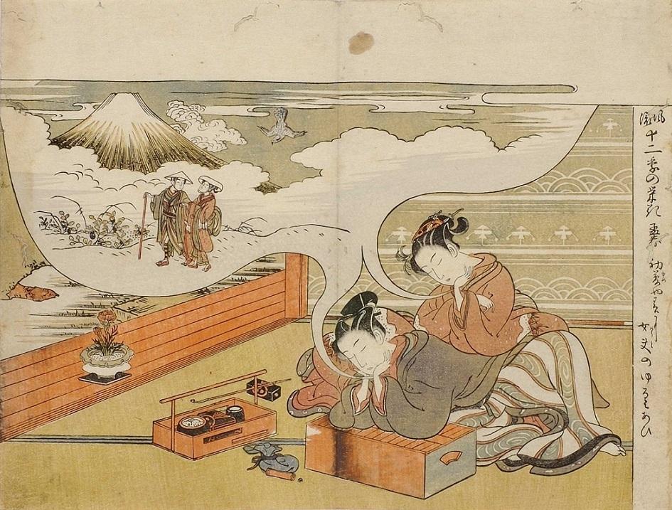 Koryusai ukiyo-e