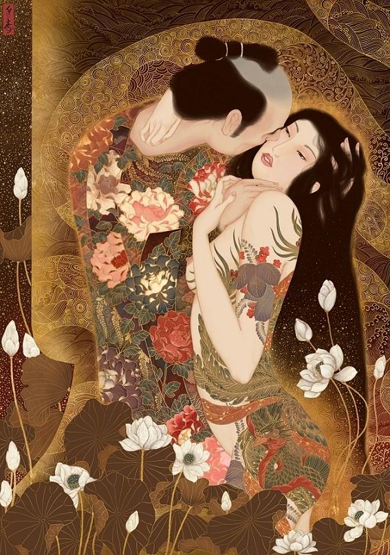 Kuchidzuke Senju Shunga