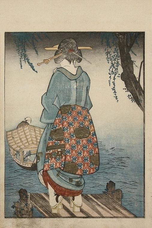 Kuniyoshi boat shunga