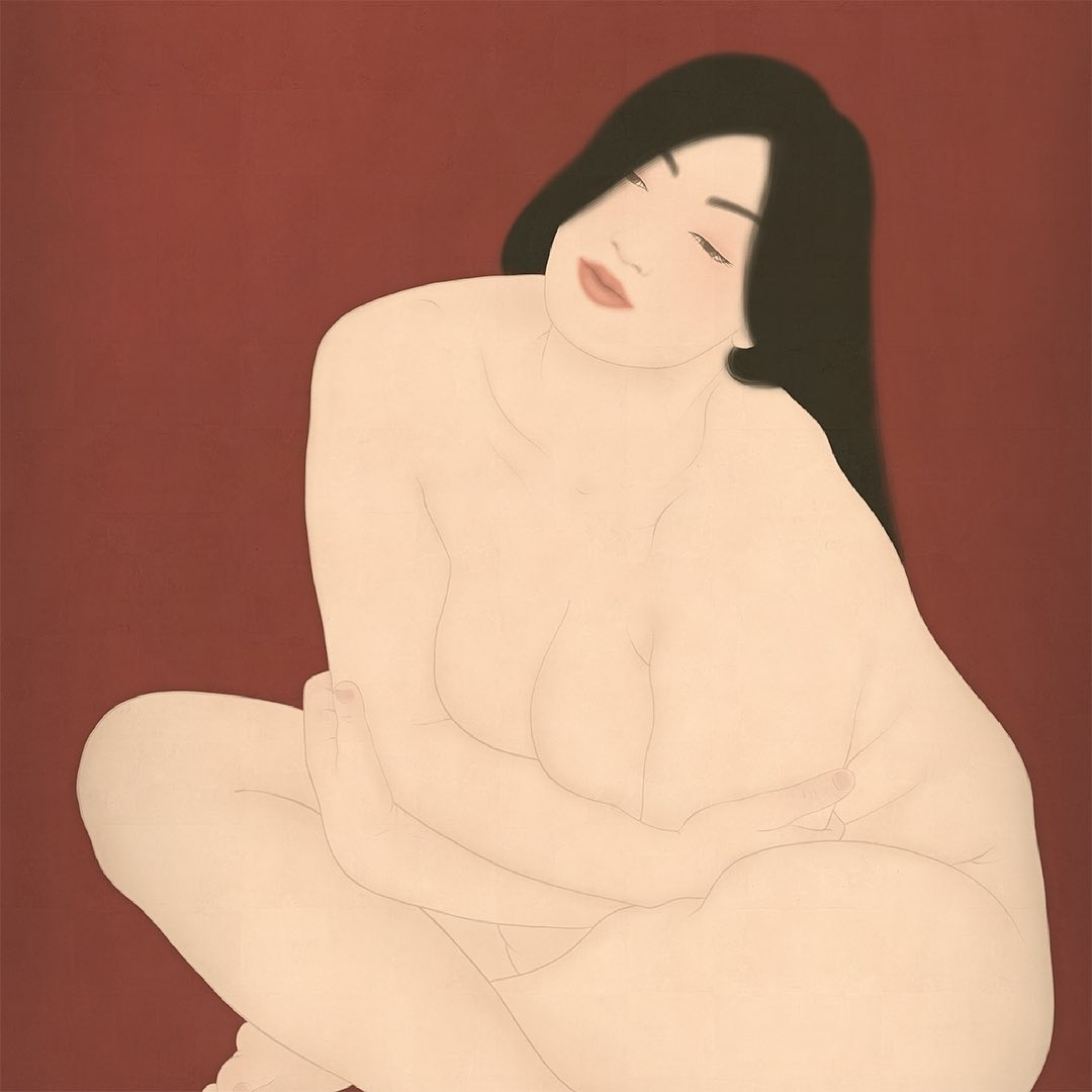 Kuroneko Senju Shunga art