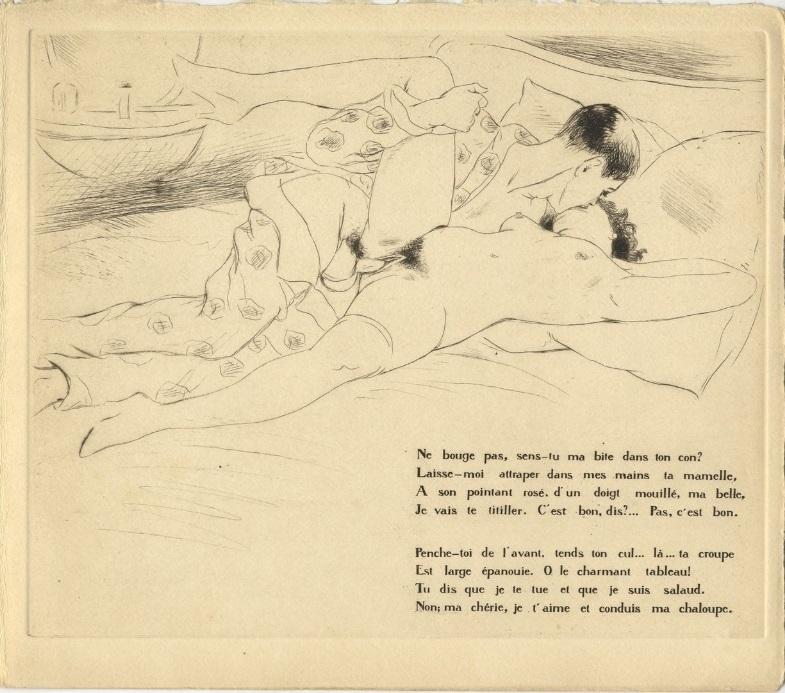 Léon Courboulei erotica