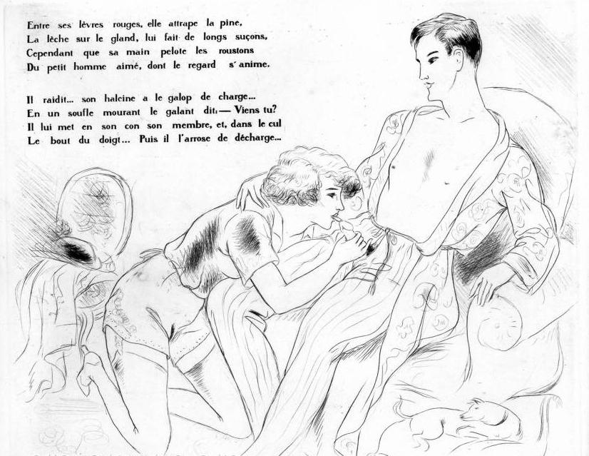 Léon Courboulei French illustrator