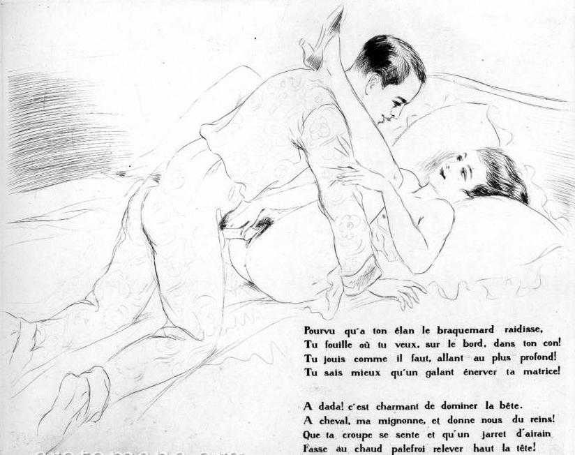 Léon Courbouleix For You For Me erotic art