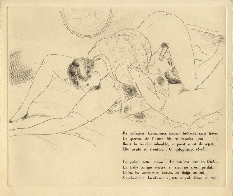 Léon Courbouleix For You For Me erotic book