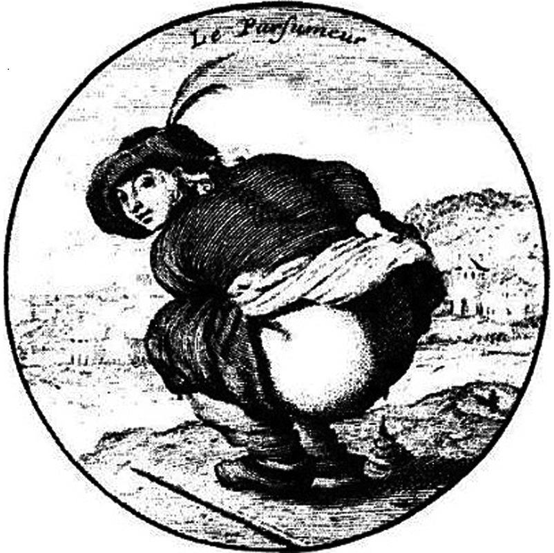 Le parfumeur at work, attributed to Picart
