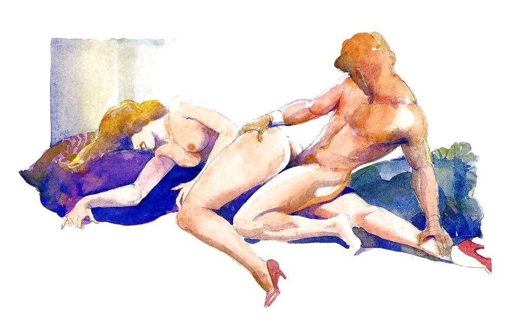 Leone Frollo copulating couple