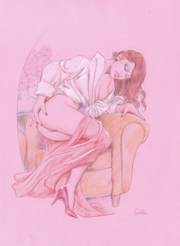 Leone Frollo drawing