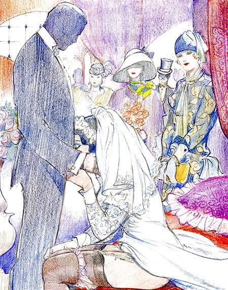 Leone Frollo fellatio wedding