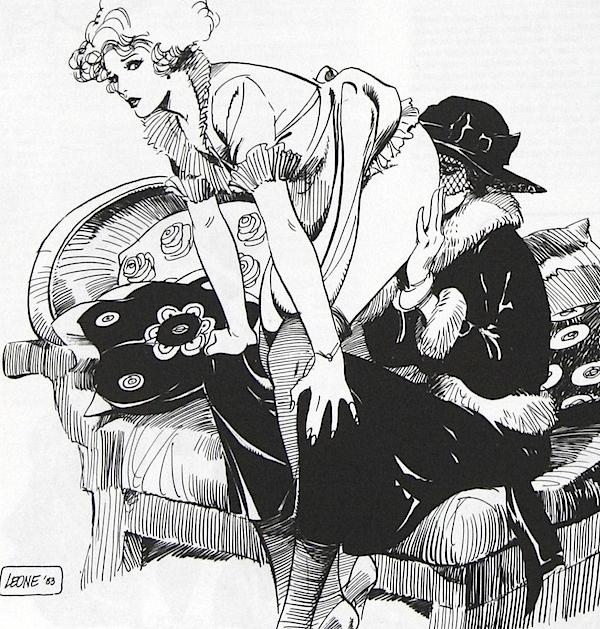 Leone Frollo lesbian art