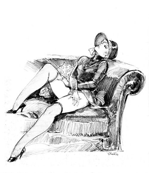 Leone Frollo masturbating nude