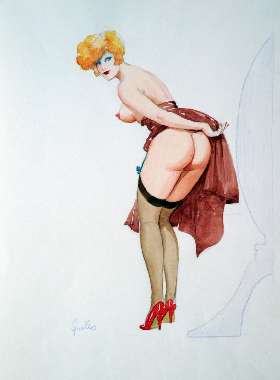 Leone Frollo naughty